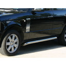 POUTRES LATERALES CHROMEES RANGE ROVER L322